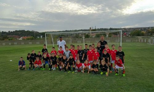 Skola fudbala u Novom Sadu - utakmica